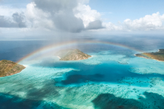 Rainbow over Lizard Island TTNQ