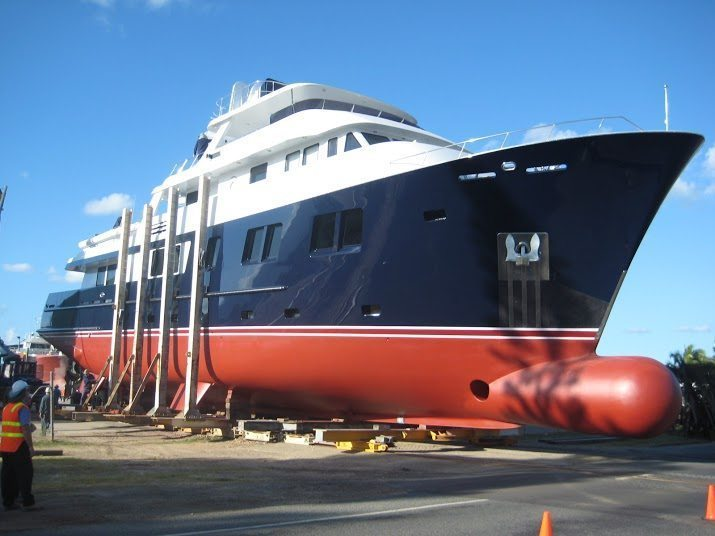 Super Yacht Group Great Barrier Reef Luxury Vessel Refits in Cairns