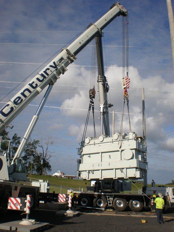 Century Cranes Super Yacht Group Great Barrier Reef